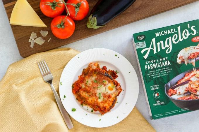 Michael Angelo's Eggplant Parmagiana