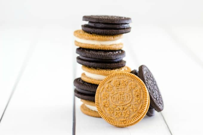 OREO Cookies Stacked
