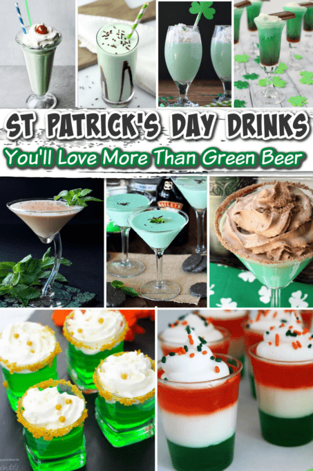 st. patricks day drinks