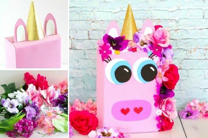 Unicorn Valentine Box feature