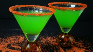 St Patrick's Day Shamrock Martini Recipe