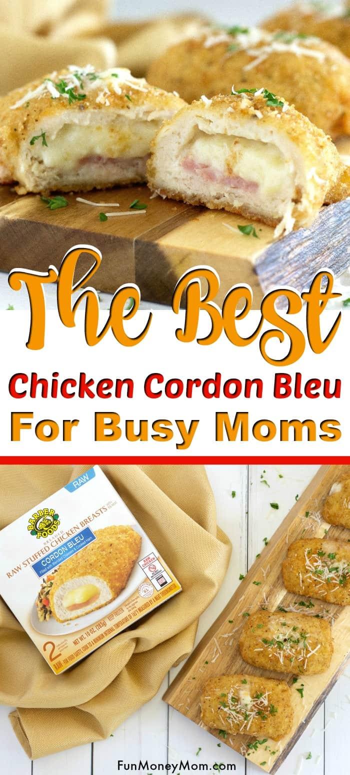 Chicken Cordon Bleu for pinterest