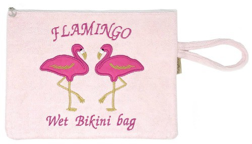 Wet bathing suit bag
