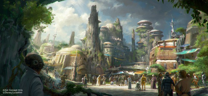 View Of Star Wars: Galaxy's Edge