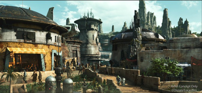 The Village of Batuu in Star Wars: Galaxy's Edge