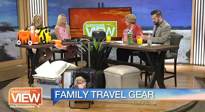 Suncoast View appearance for travel gear