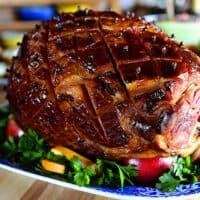 Glazed Easter Ham