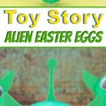 Alien Easter Eggs Pin