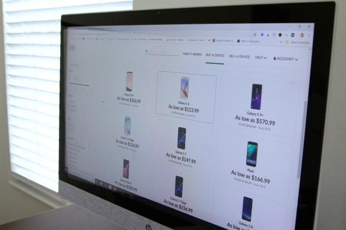 Choosing the best phone from Trademore