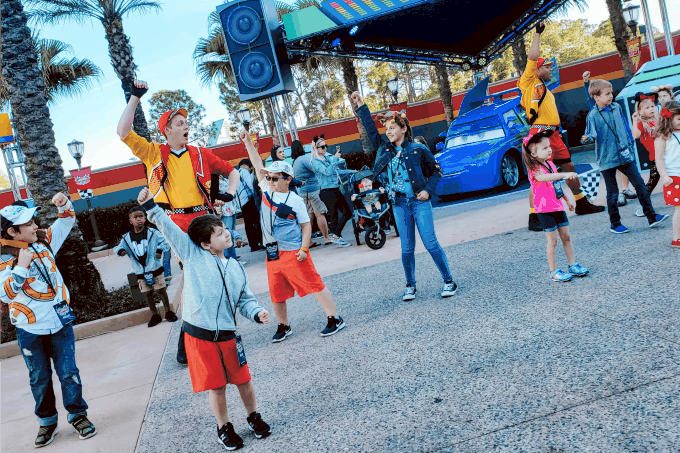 Lightning McQueen's Pit Crew Dancing With Kids