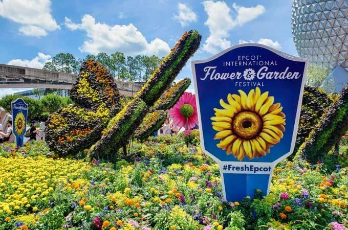 Epcot's Flower & Garden Festival Feature