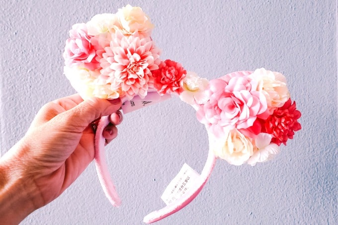 Floral Minnie Ears