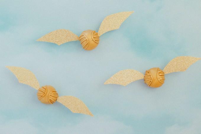Harry Potter Golden Snitch Peanut Butter Balls
