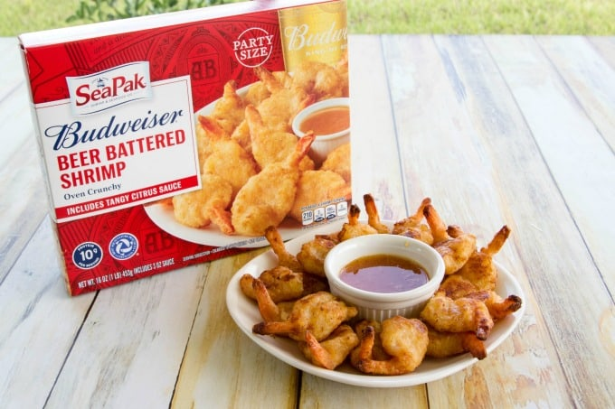 SeaPak Budweiser Beer Battered Shrimp