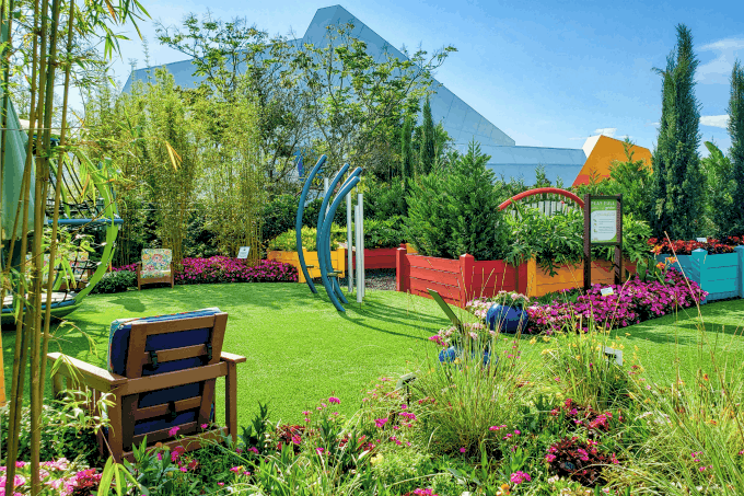 Play Full Garden at Epcot's Flower & Garden Festival
