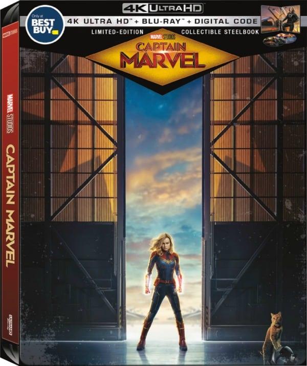 Captain Marvel SteelBook for collectors