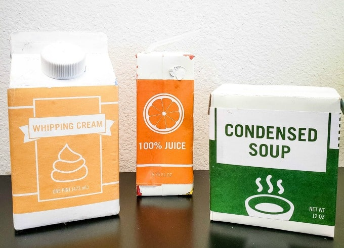 Examples of cartons