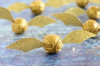 Golden Snitch Peanut Butter Balls feature 2