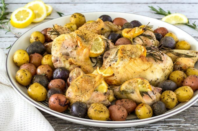 Lemon Rosemary Chicken Feature 2