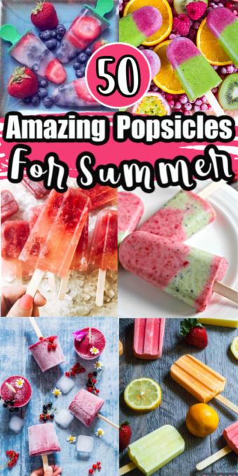 Popsicle recipe roundup
