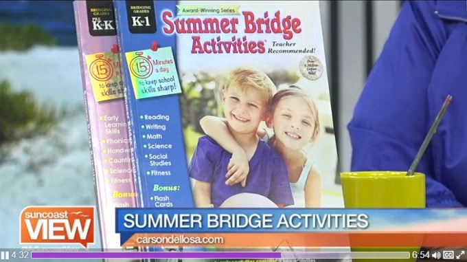 Summer Bridge Activities on Suncoast View