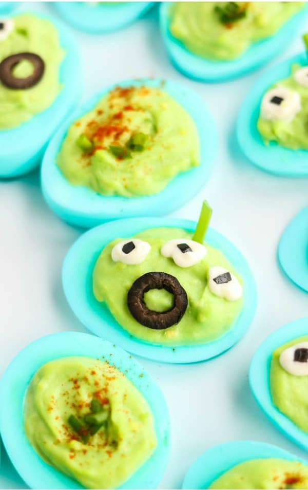 Toy Story deviled eggs