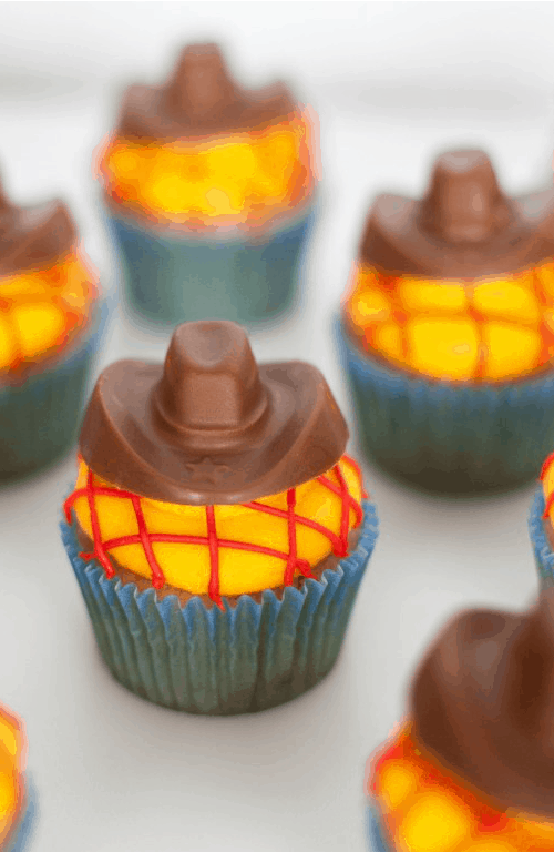 Woody Toy Story Cupcakes