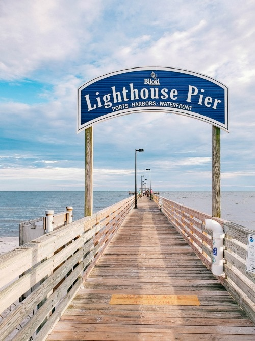 Biloxi Lighthouse Pier