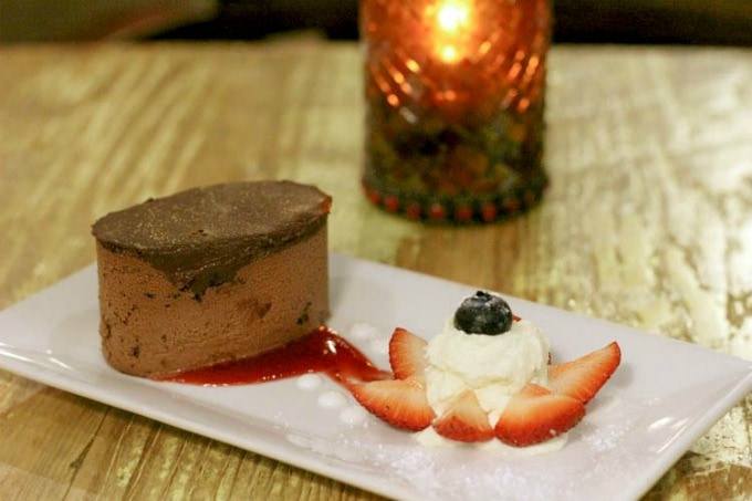 Chocolate Mousse Dessert makes this one of the best places to eat in Clearwater Florida