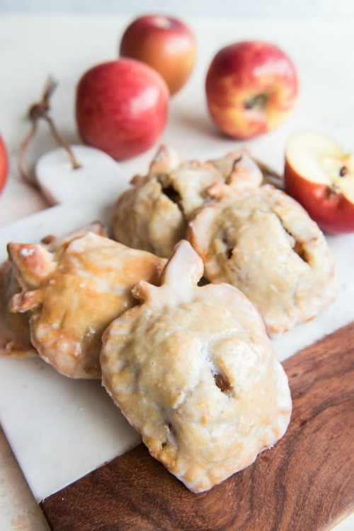 Glazed Apple Pie Cookies for Back-to-School