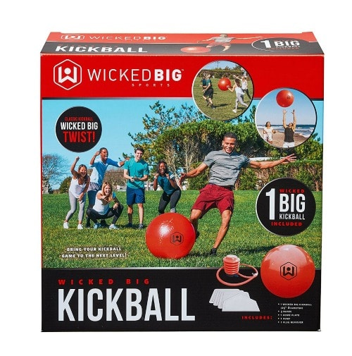 Kickball game for kids