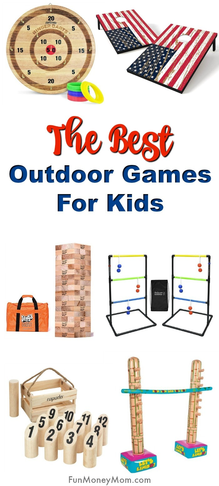 The Best Outdoor Games For Kids Fun Money Mom
