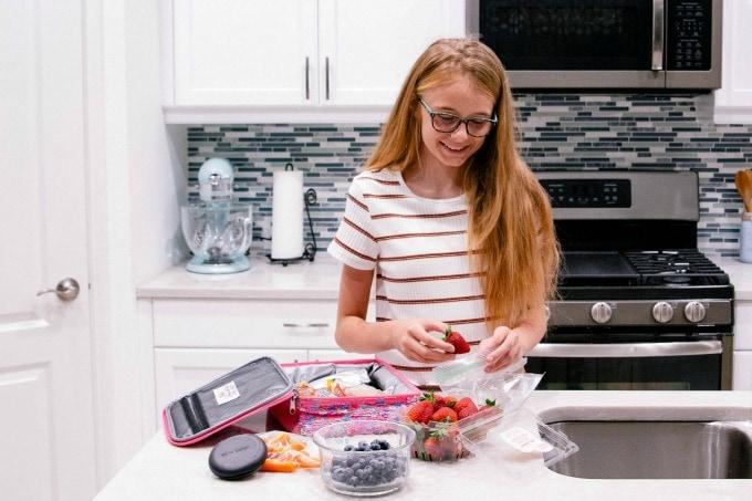 Ashling in Kitchen