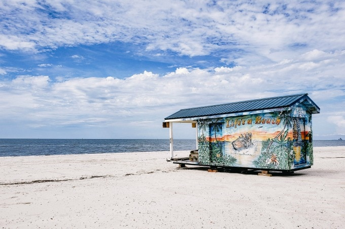 Beach Shack in Coastal Mississippi