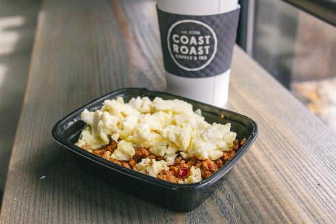 Breakfast at Coast Roast