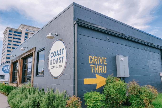 Coast Roast coffee shop
