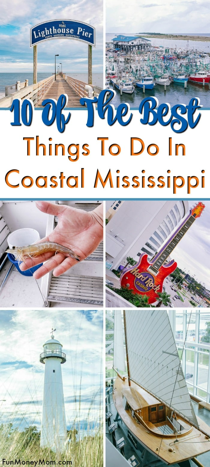 Things to do on the Mississippi Gulf Coast pin 1