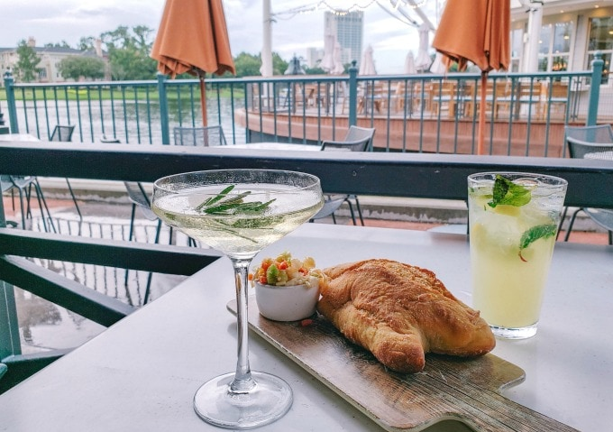 Cocktails at Terralina in Disney Springs