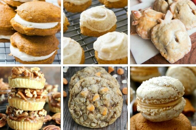 Fall cookies feature