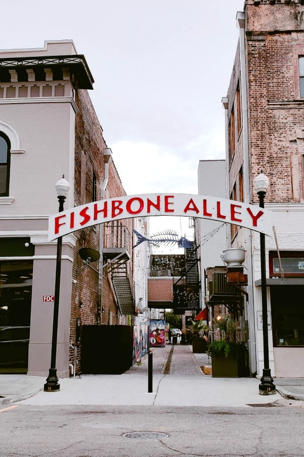 Head to Fishbone Alley if you're looking for places to eat in Coastal Mississippi