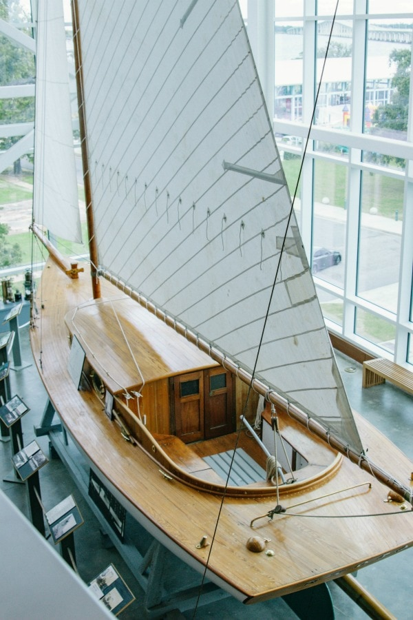 Sailboat at Seafood Museum