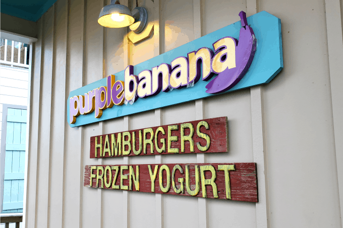Purple Banana in Old Town Bay St. Louis