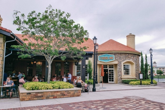 Terralina restaurant in Disney Springs