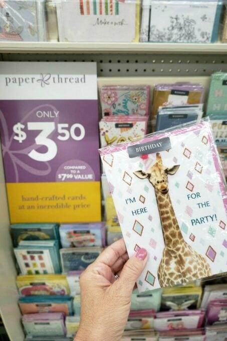 Paper Thread Birthday Card