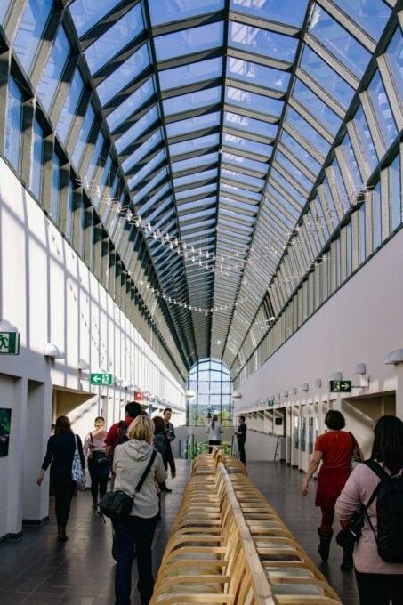 Atrium of Arktikum museum
