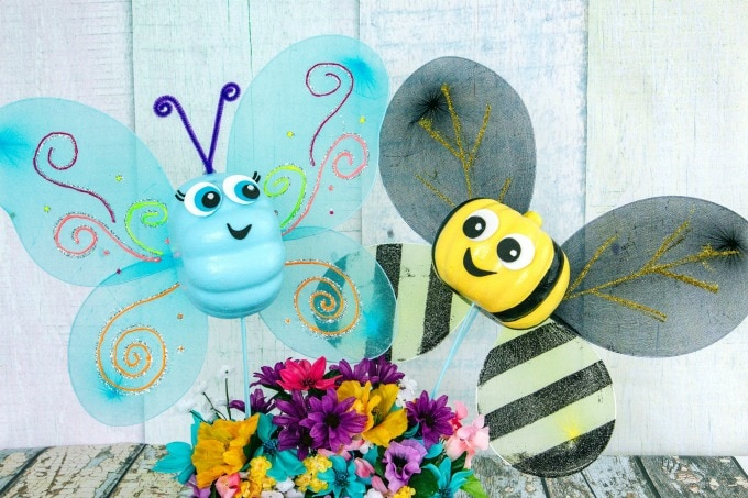 Butterfly & Bumblebee a