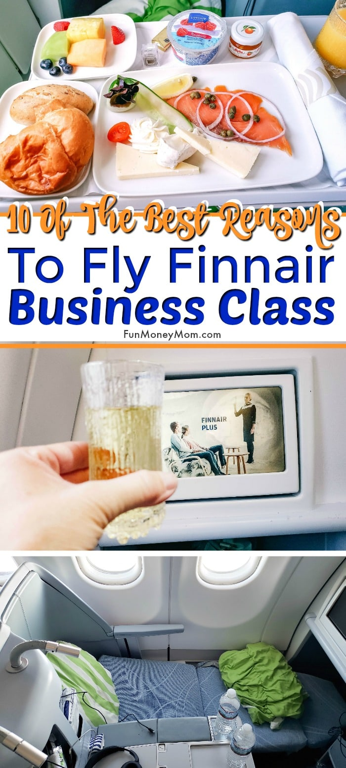 Finnair Business Class pin