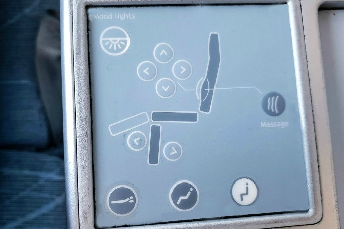 Finnair seat diagram