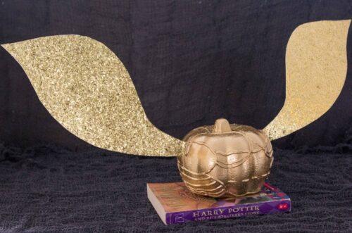 Golden Snitch Harry Potter pumpkin