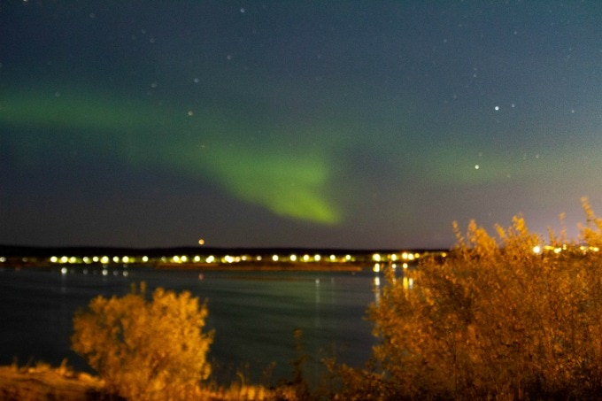 Viewing the northern lights is one of the most popular things to do in Rovaniemi